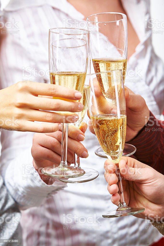 Sekt und Champagner Lizenzfreies stock-foto