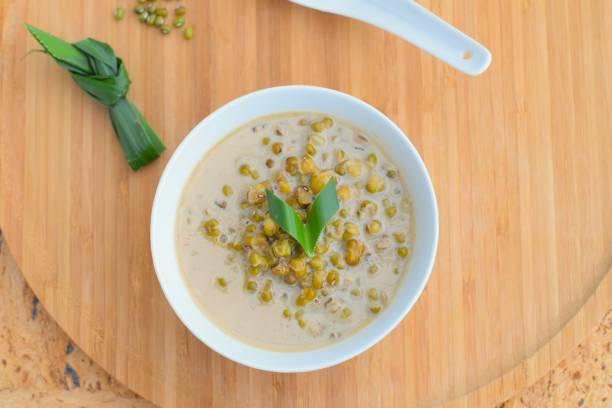 Bubur kacang hijau stock photo