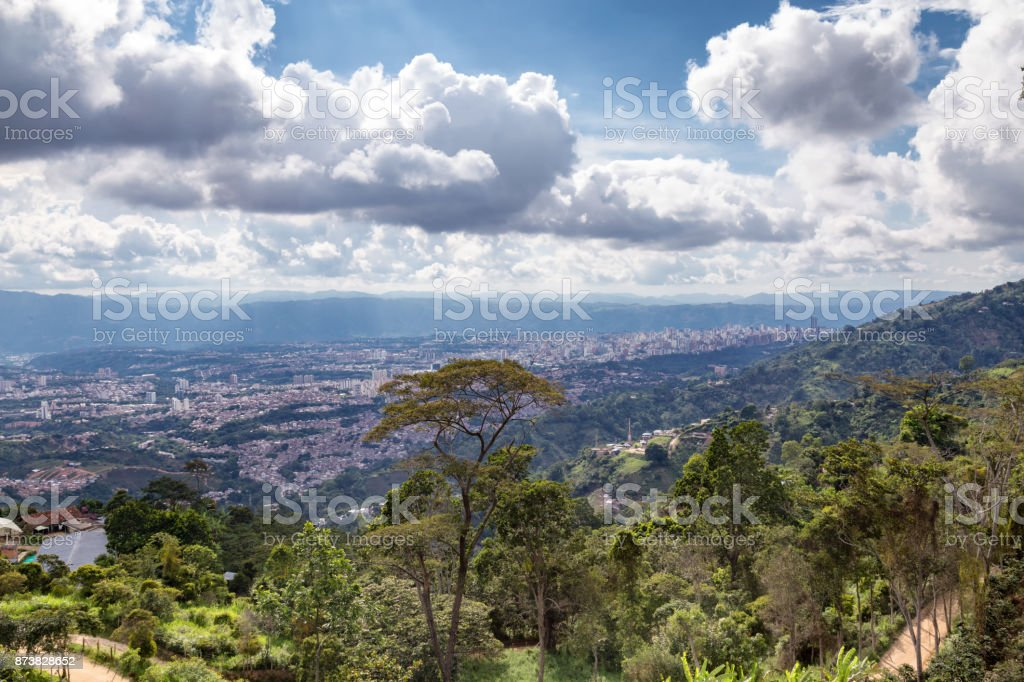 Bucaramanga Landscape stock photo