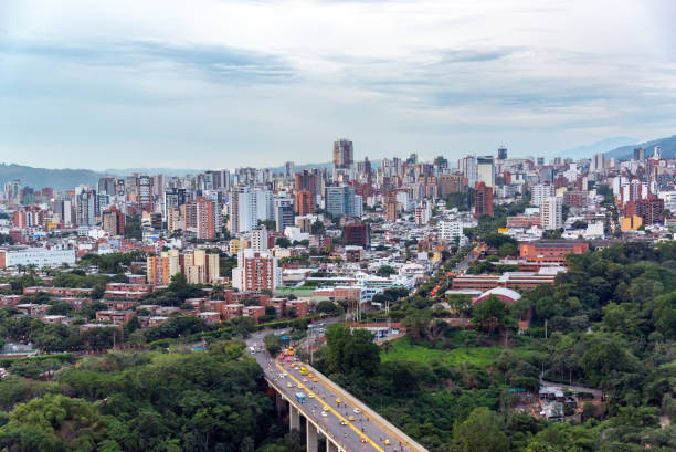 Bucaramanga, Santander Cityscape stock photo