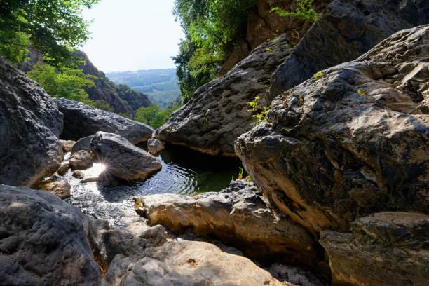 Canyon de Bucatoggio dans l'île de Corse - Photo