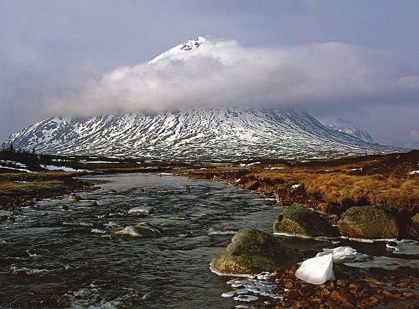 Buchaille Etive Mor Glencoe stock photo