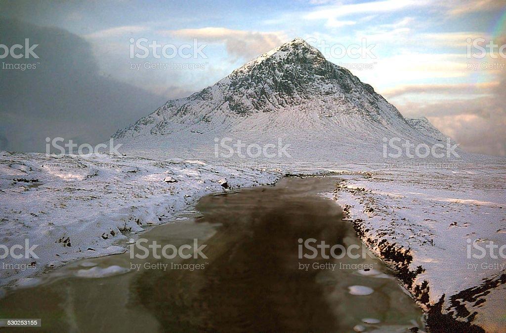 Buchaille Etive Mor, Glencoe stock photo