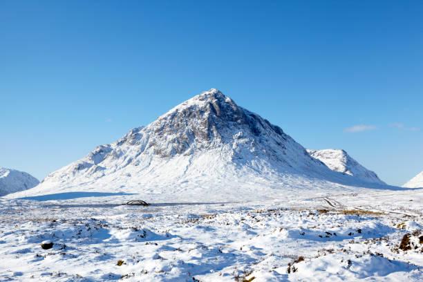 Buchaillie Etive Mor, Glencoe, Scottish Highlands, Scotland, UK stock photo