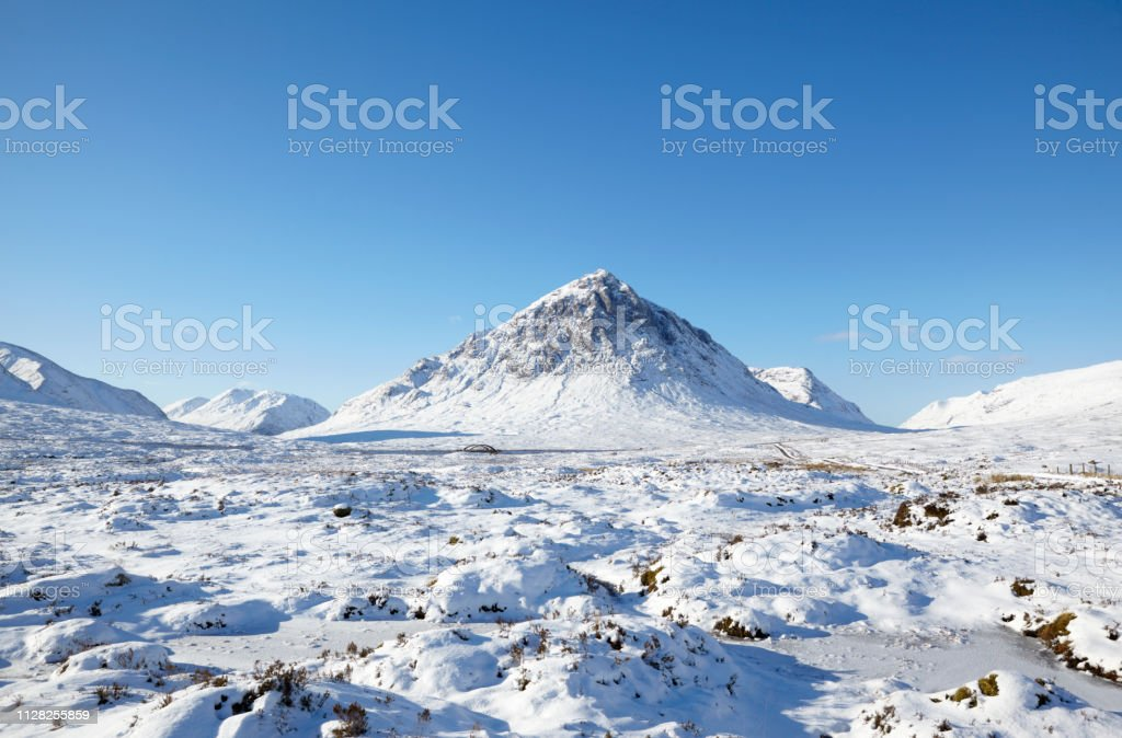 Buchaillie Etive Mor, Glencoe, Scottish Highlands, Scotland, UK stock photo