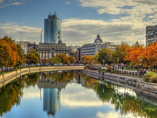 Bucharest in autumn, Romania HDR image romania stock pictures, royalty-free photos & images