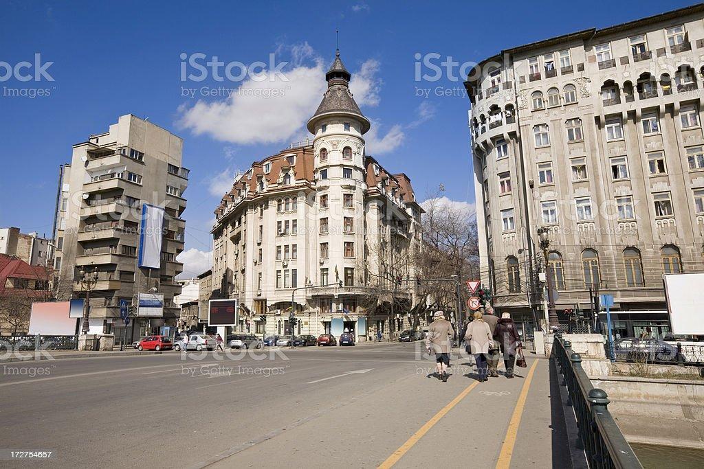 Bucharest Romania royalty-free stock photo