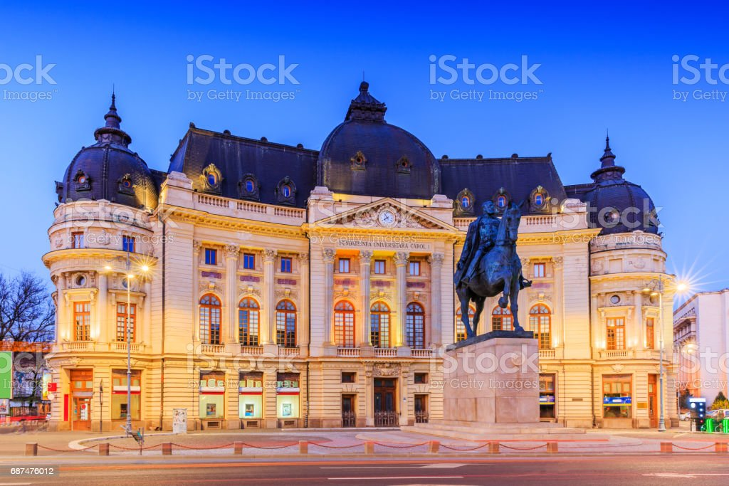 Boekarest, Roemenië. foto
