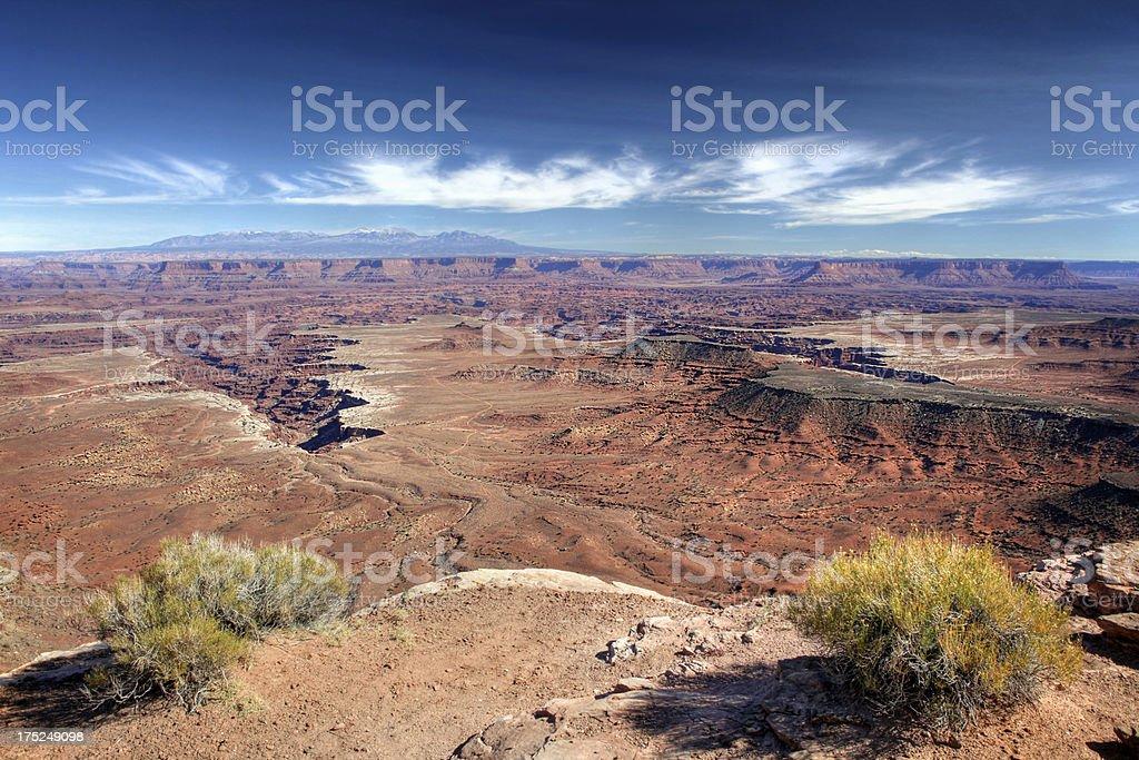 Buck Canyon, Canyonlands National Park royalty-free stock photo