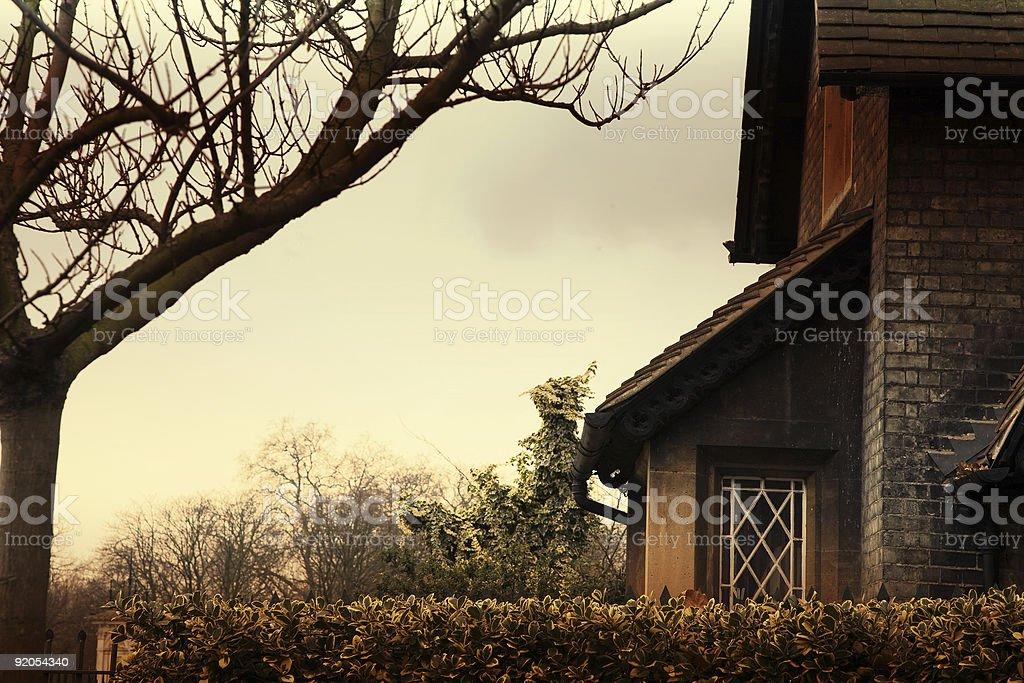 'Buck Hill Lodge', London royalty-free stock photo