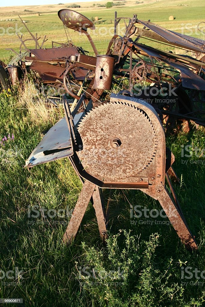 Buck Saw royalty-free stock photo
