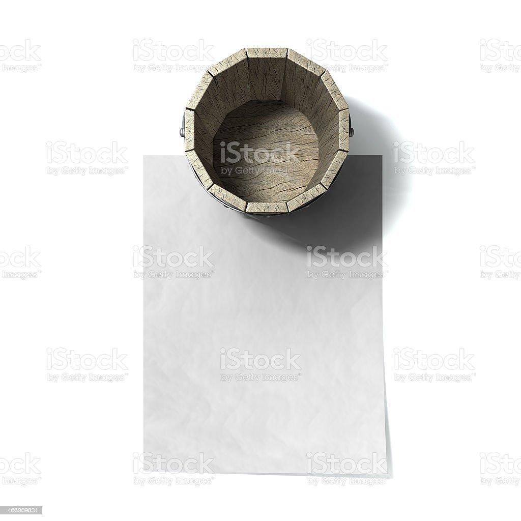 Bucket List stock photo