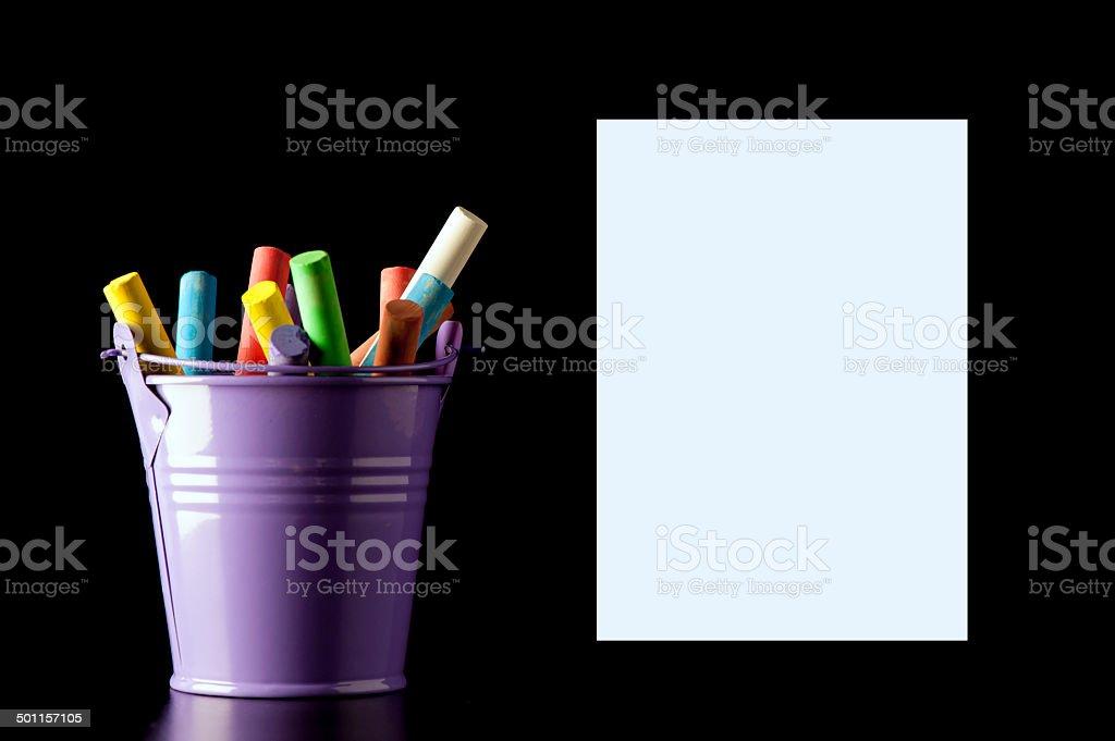 Bucket List Template stock photo