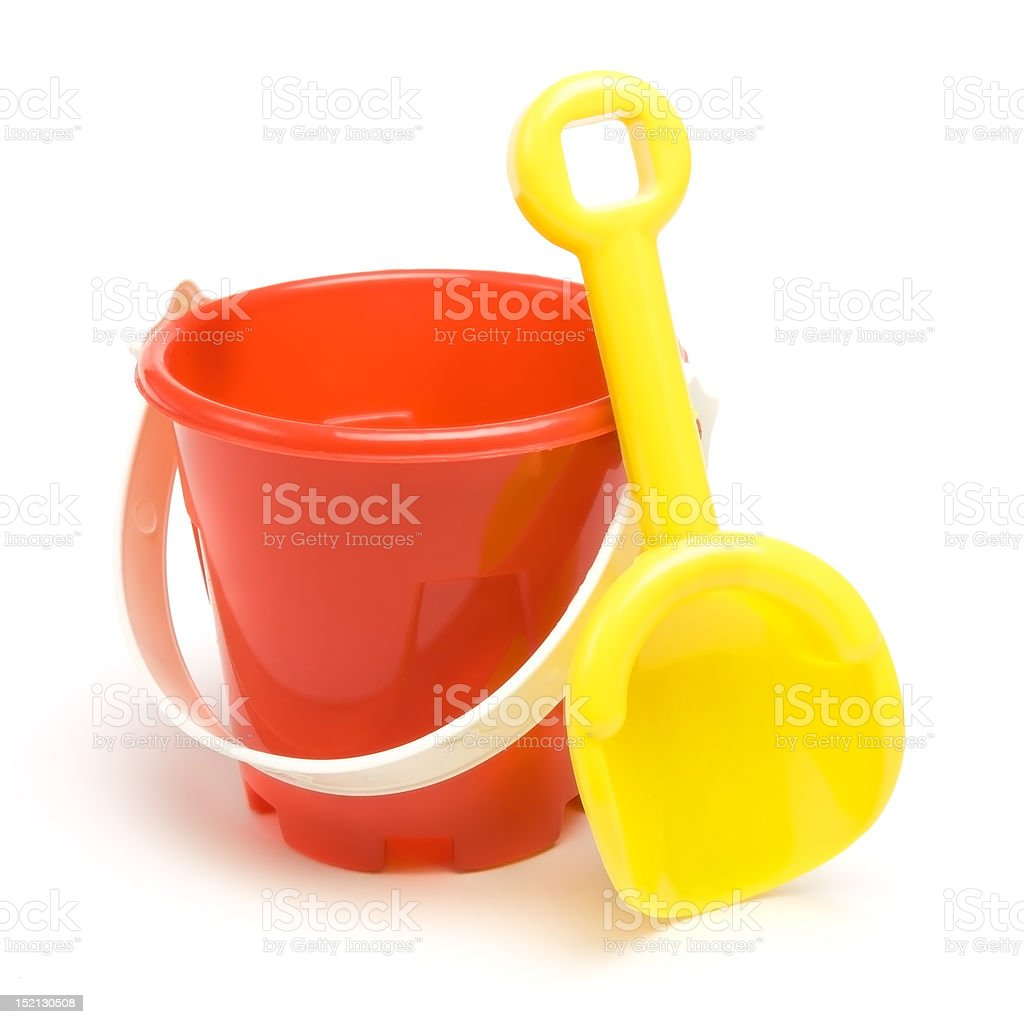 Bucket n Spade stock photo
