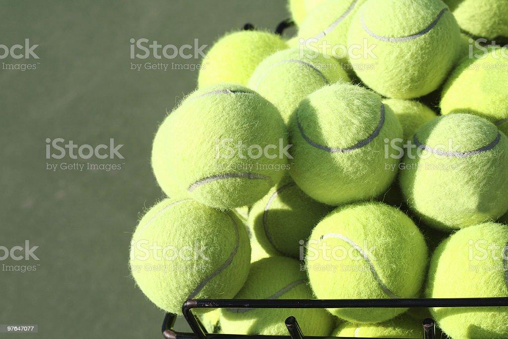 bucket o balls royalty-free stock photo