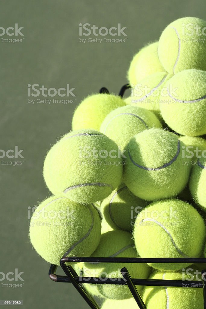 bucket o balls royalty-free stock photo