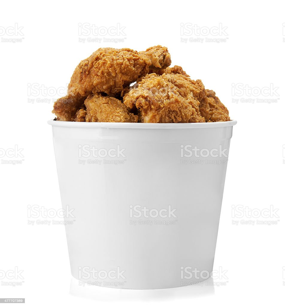 Bucket of Chicken royalty-free stock photo
