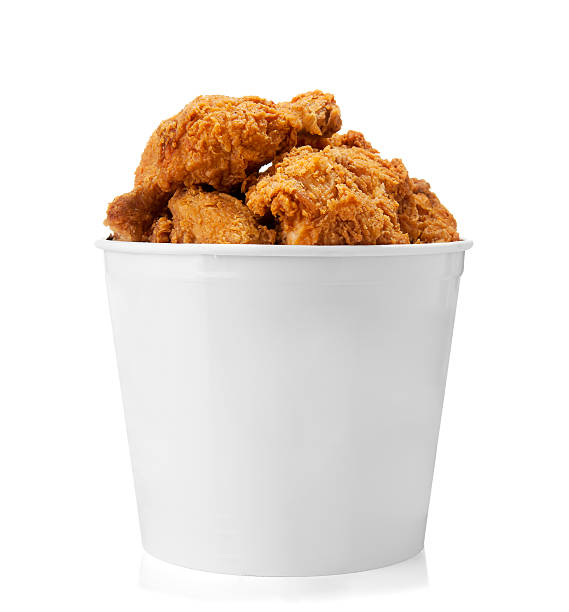 Bucket of Chicken stock photo