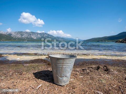 A bucked onshore of Kovada Lake, Isparta, Turkey.
