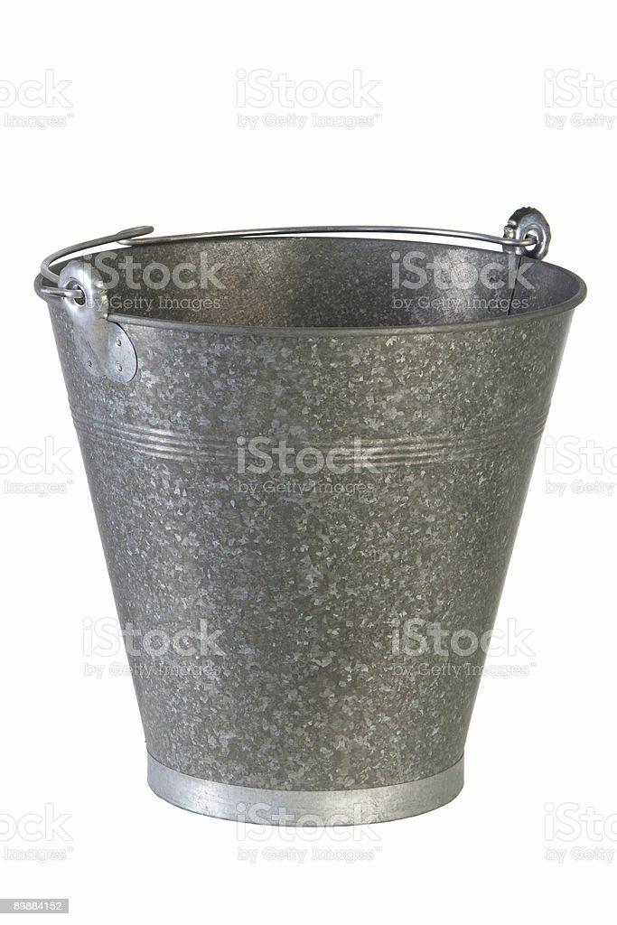 Bucket royalty-free stock photo