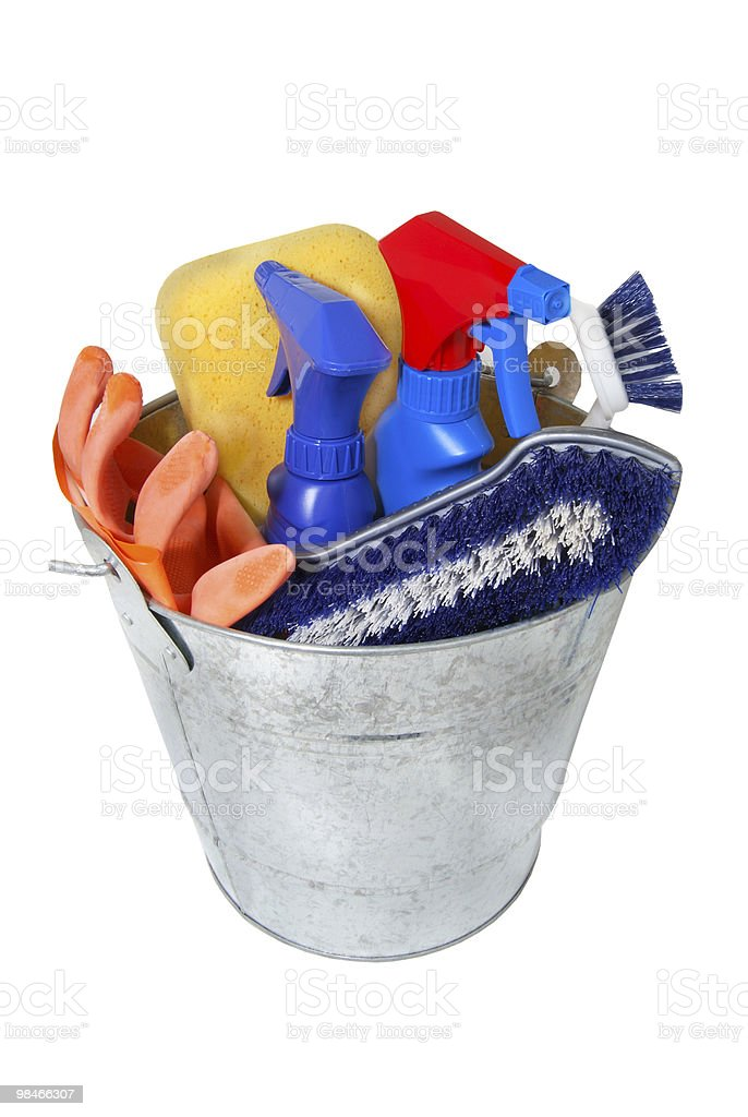 Bucket royalty-free stock photo