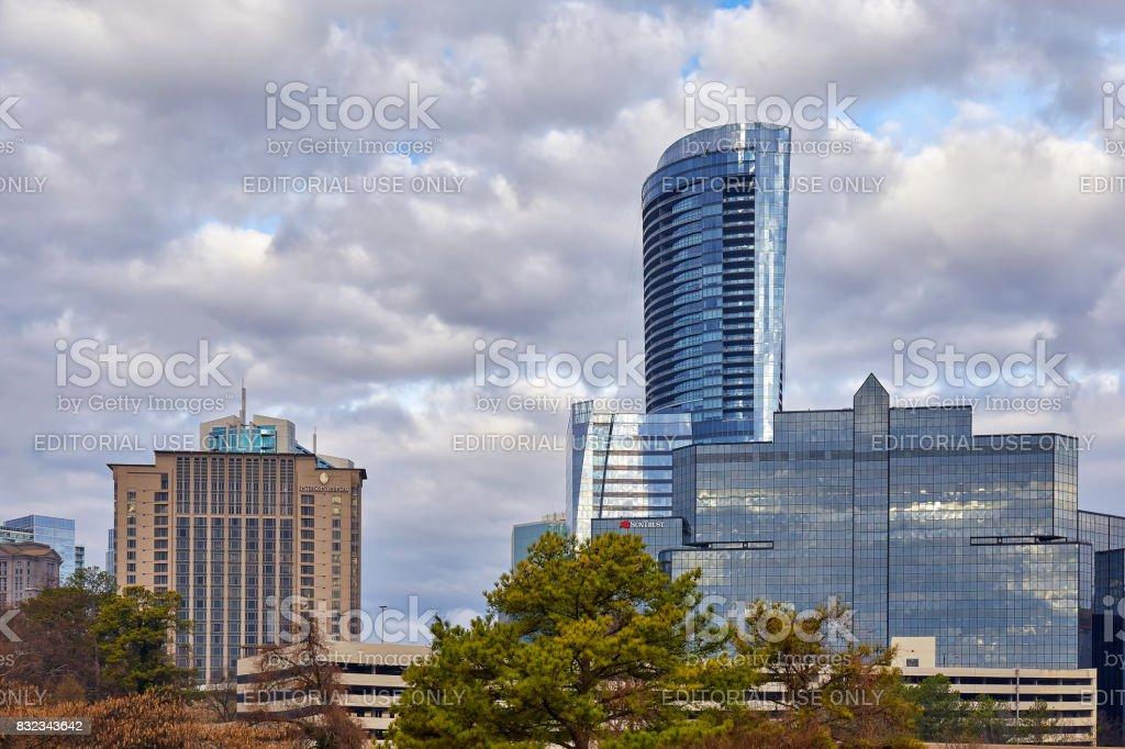 Buckhead, Atlanta, Georgia stock photo