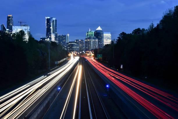 Buckhead Atlanta stock photo