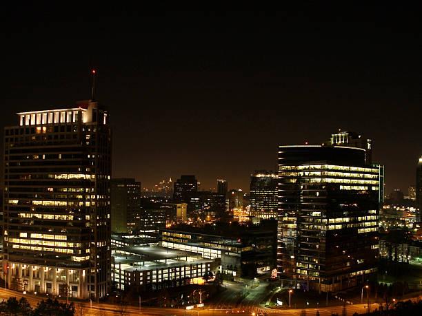 Buckhead Skyline stock photo