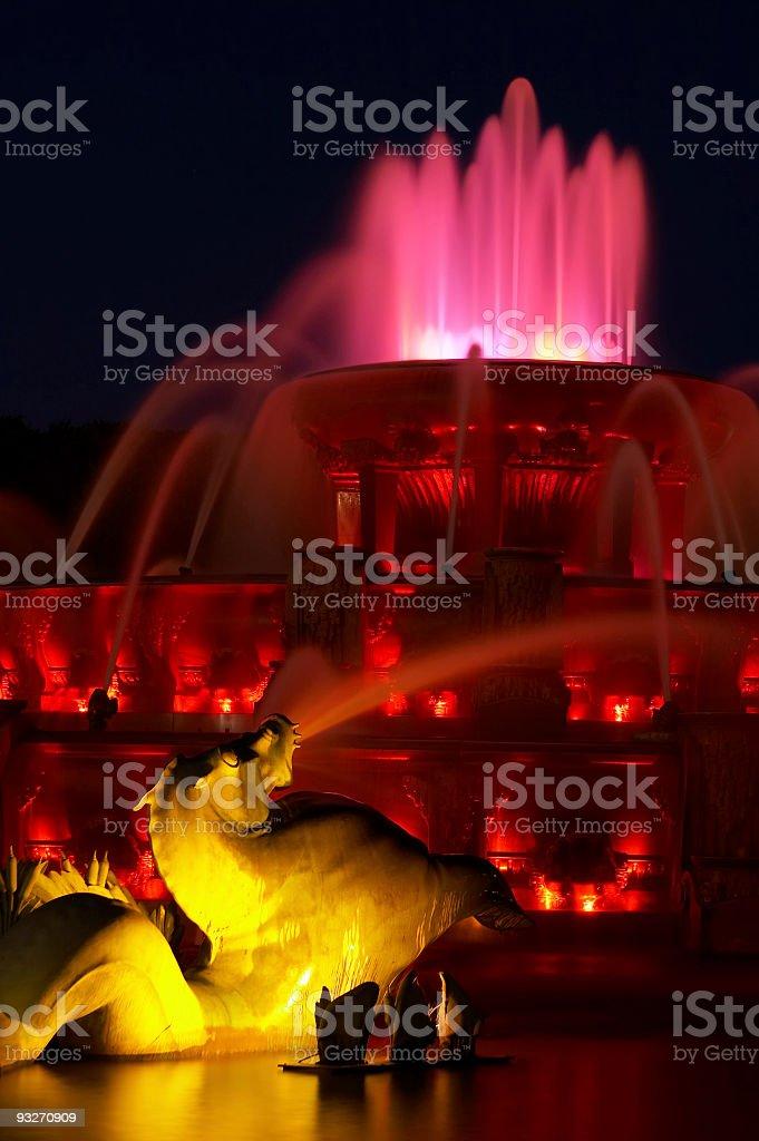 Buckingham Fountain royalty-free stock photo
