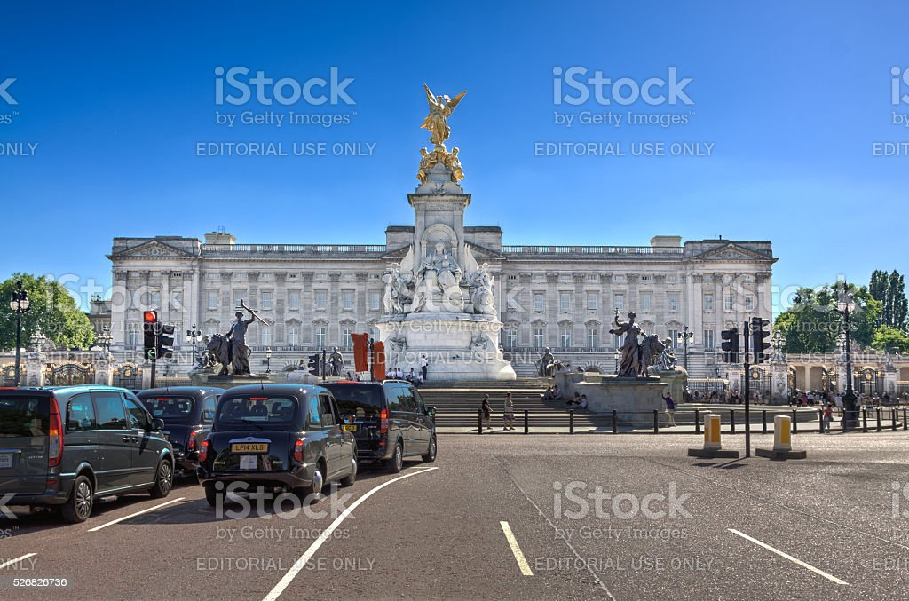 Victoria Memorial et le palais de Buckingham, Londres, en Angleterre. - Photo
