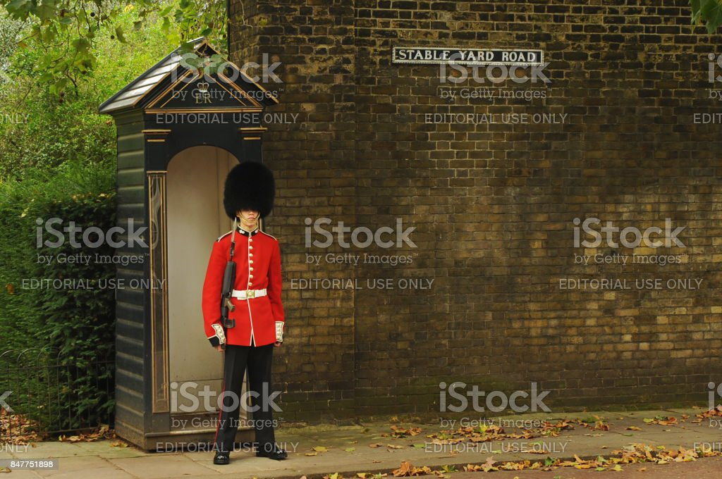 Buckingham Palace, Central London, UK stock photo