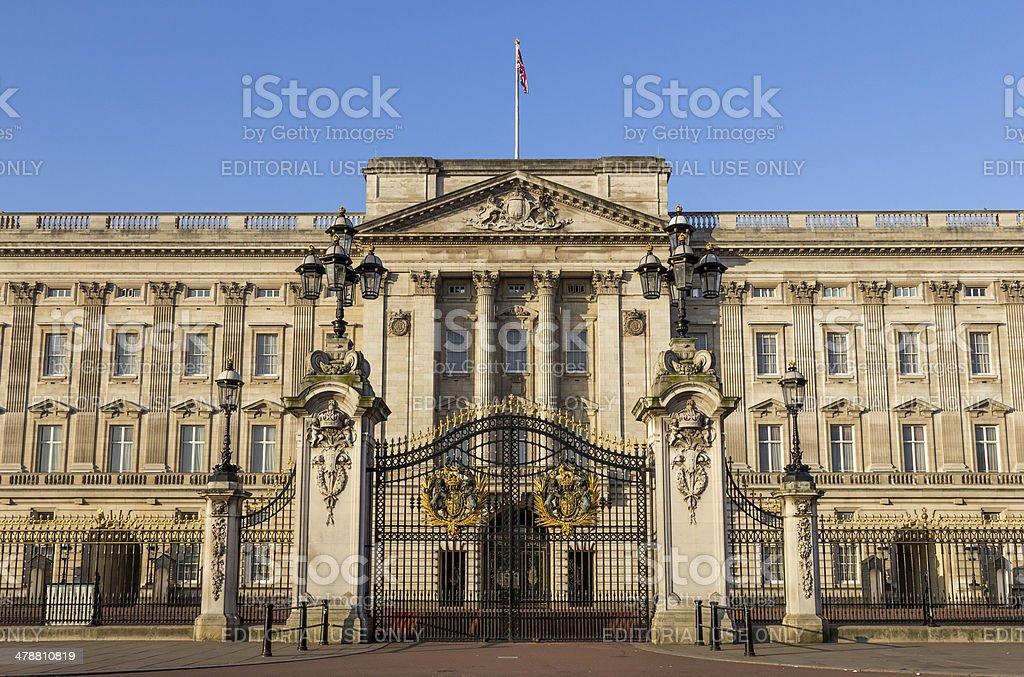 Buckingham Palace Front Gates stock photo