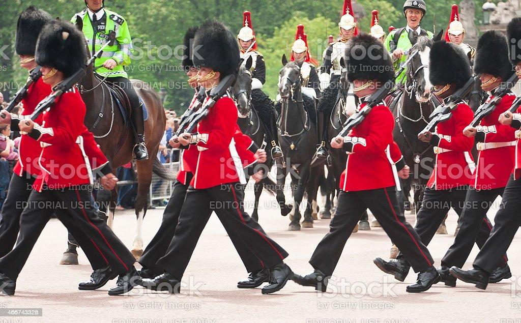 Buckingham Palace Guard, London, GB – Foto