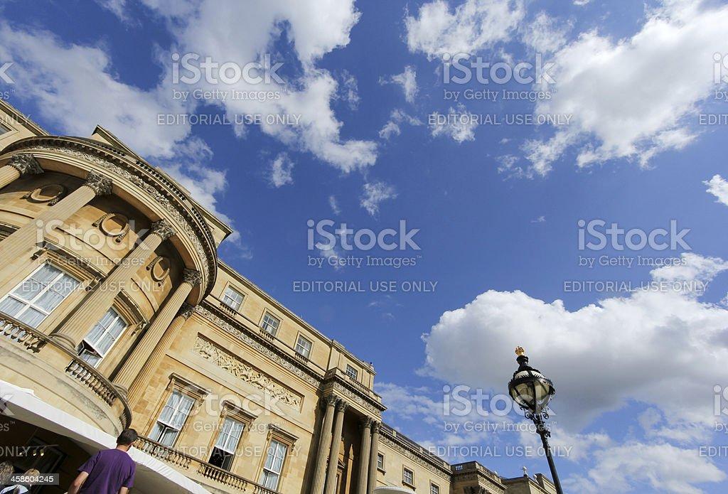 Buckingham Palace in London, England royalty-free stock photo