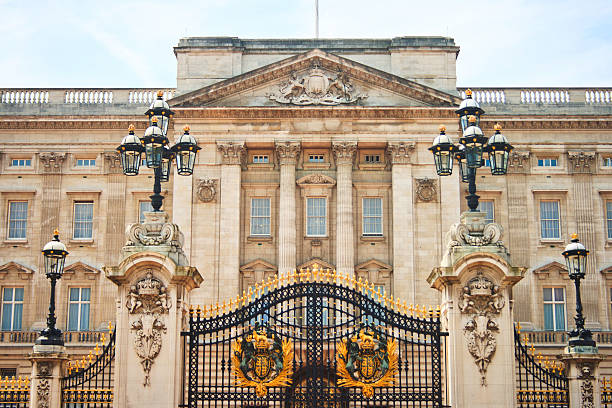Buckingham Palace in London, United Kingdom stock photo