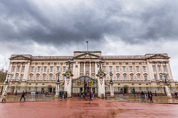 Buckingham Palace in London,UK stock photo