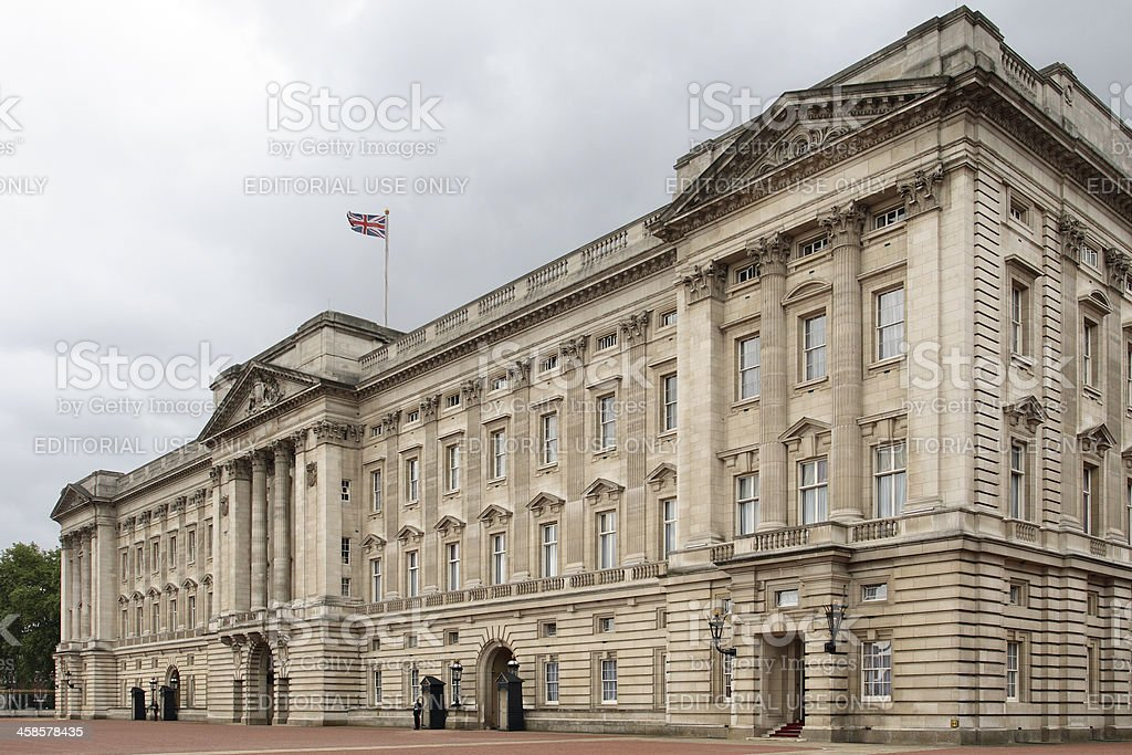 Buckingham Palace royalty-free stock photo