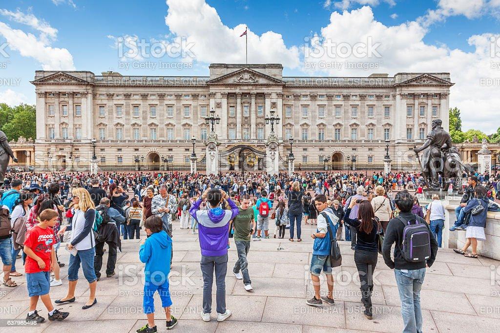 Buckingham Palace stock photo