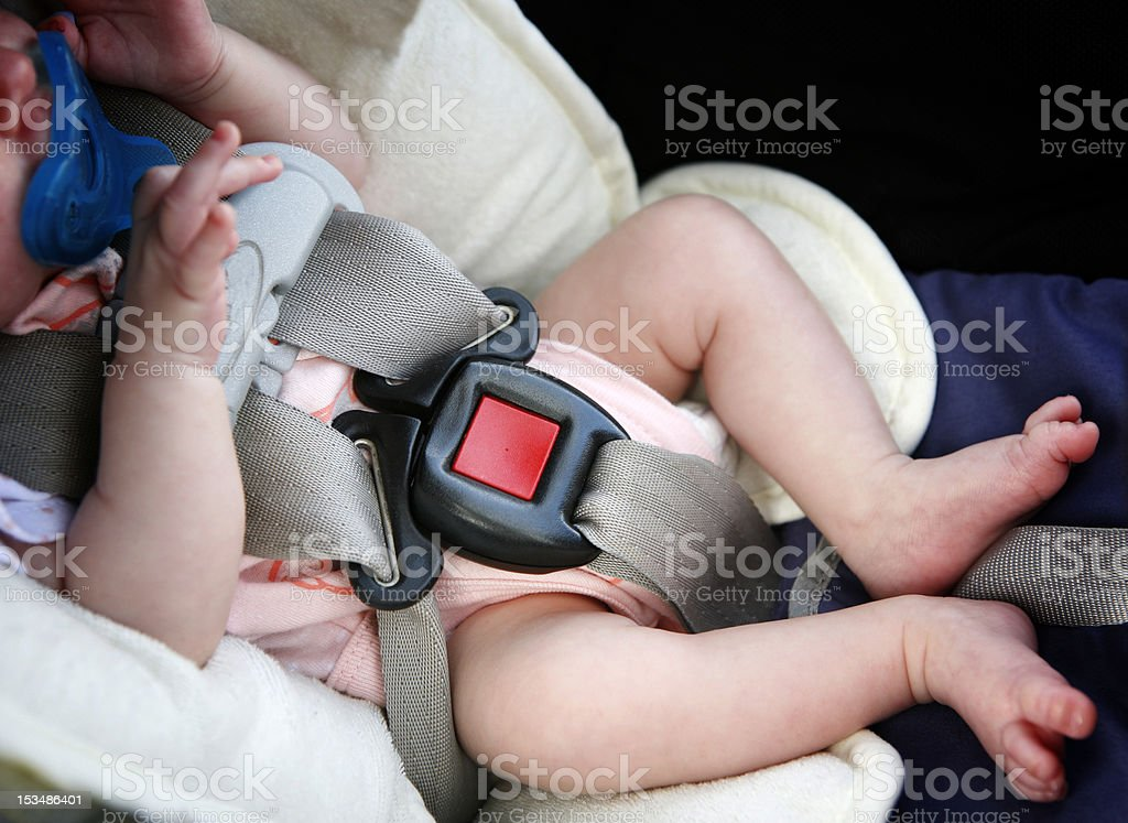 Buckle up! stock photo