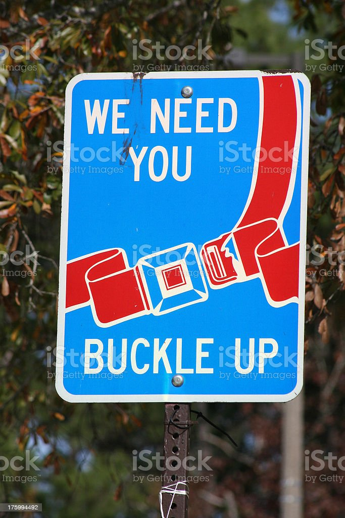 Buckle Up royalty-free stock photo