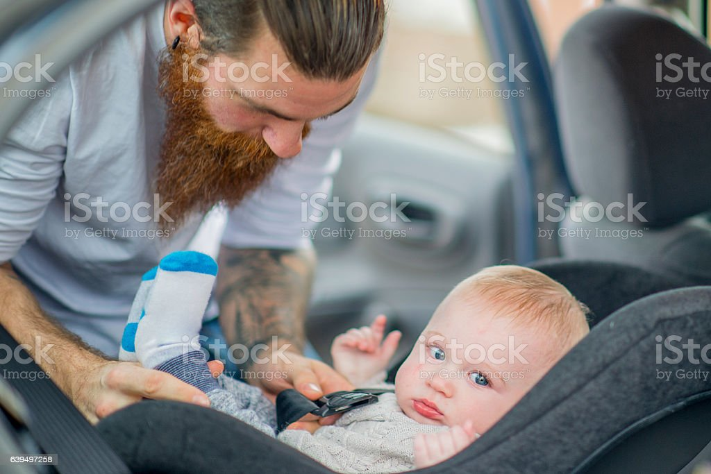 Buckling In stock photo