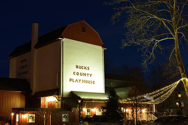 Bucks County Playhouse stock photo