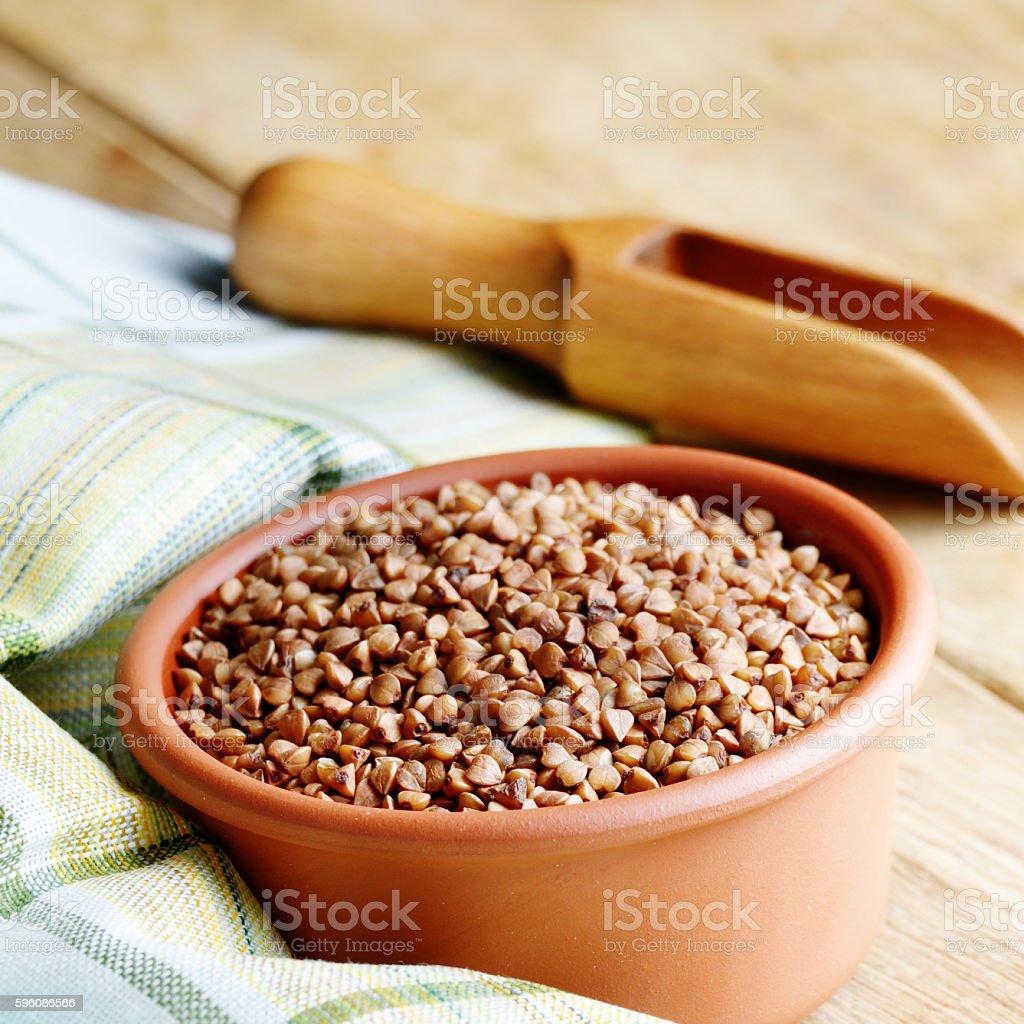 Buckwheat kernels royalty-free stock photo