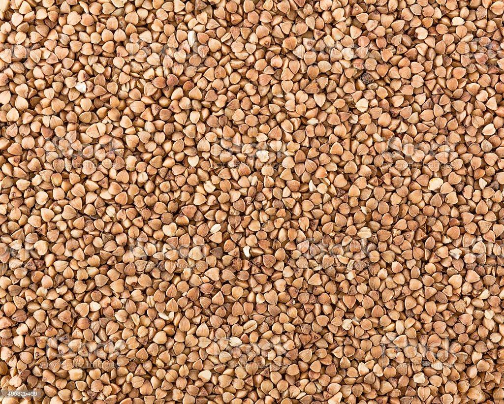Buckwheats texture stock photo
