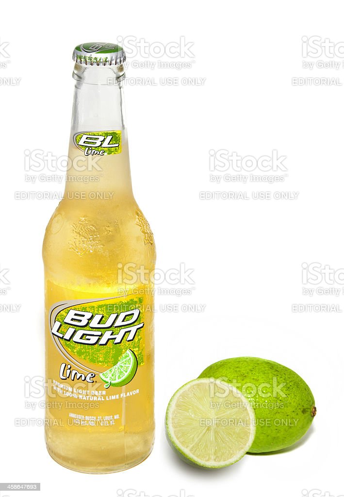Bud light lime bottle stock photo more pictures of alcohol istock bud light lime bottle royalty free stock photo aloadofball Image collections