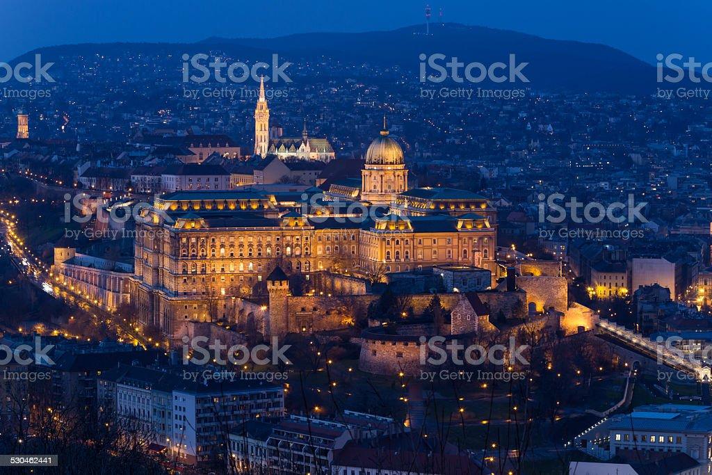Buda Castle, Budapest, Hungary stock photo