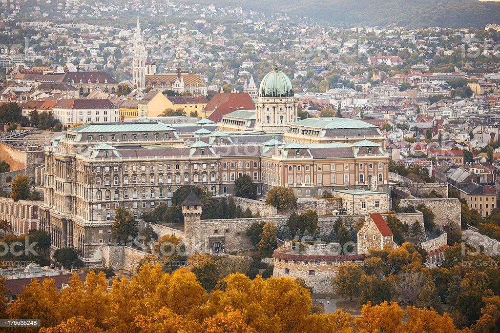 Buda Castle - Budapest royalty-free stock photo
