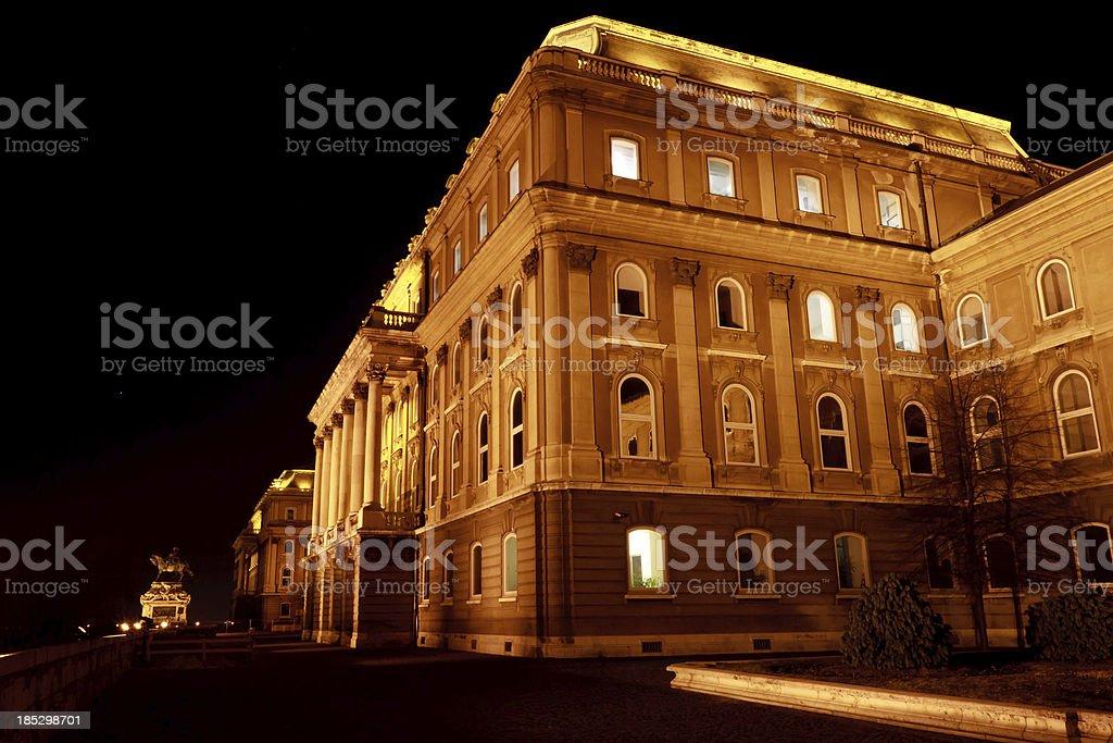 Buda Castle, Budapest royalty-free stock photo