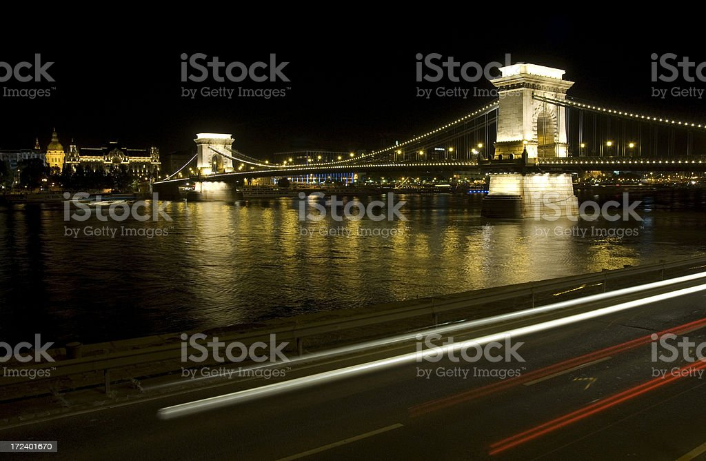 Budapest Bridge royalty-free stock photo