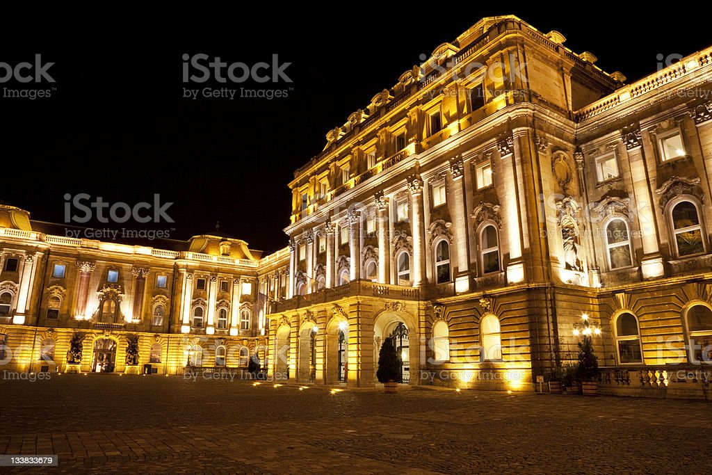 Budapest - Buda Castle royalty-free stock photo